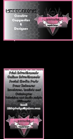 Image, Business Card, MkbyDesign