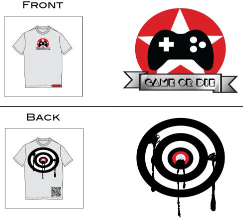 Image, t-shirt, design, gaming, adobe illustrator