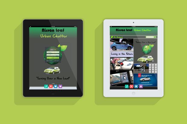Nissan Leaf Social Media Campaign - Leaf Chatter